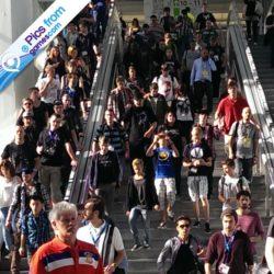 Pics from GamesCom: l'arrivo dell'orda!