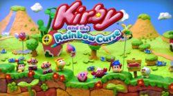kirby and the rainbow curse banner