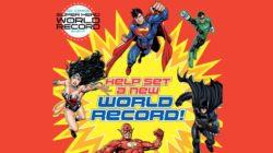 DC Comics Super Hero World Record: un evento da Guinnes dei primati!