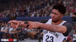 NBA 2K16: un trailer su Anthony Davis