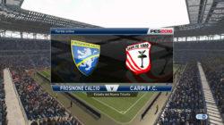 71° Minuto | Frosinone – Carpi (Serie A) | PES 2016
