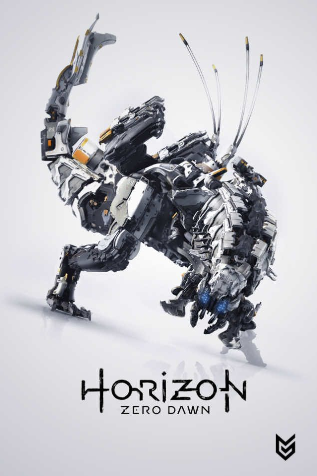 Horizon zero dawn обои на телефон