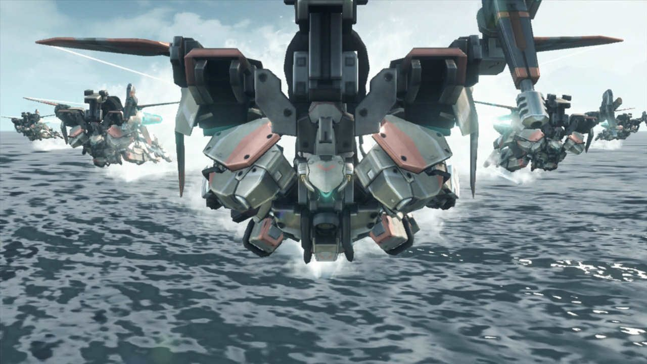 Xenoblade Chronicles X Skell Flight
