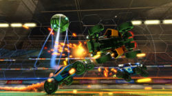 Rocket League su Xbox One avrà oggetti di Sunset Overdrive