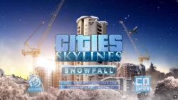 Cities: Skylines, annunciata l'espansione Snowfall