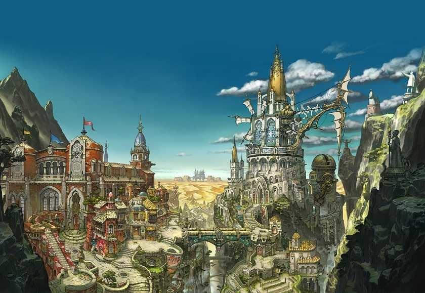 La splendida città di Al-Khampis