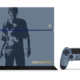 Uncharted 4, svelata una PlayStation 4 a tema