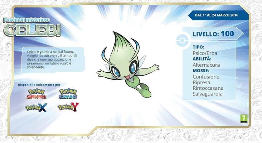 Celebi-Pokémon-free-distribution-gamesoul