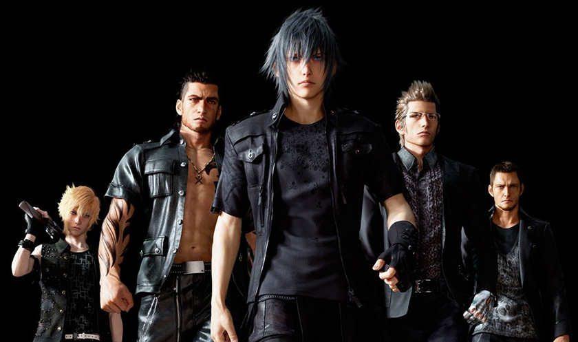 Final-Fantasy-XV-Main-Cast-gamesoul