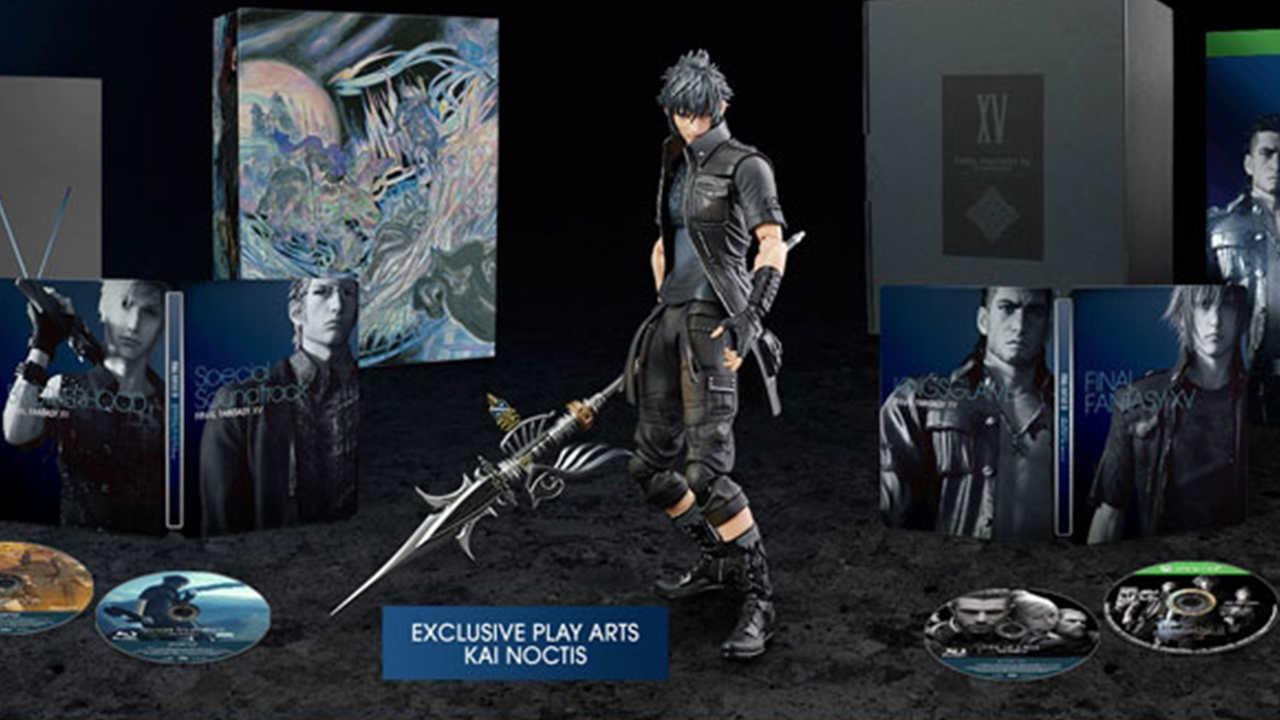 Final Fantasy XV, rivelate le edizioni del gioco!