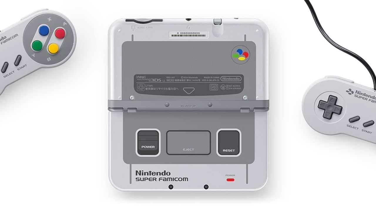 Il New 3DS XL si tinge di Super Famicom
