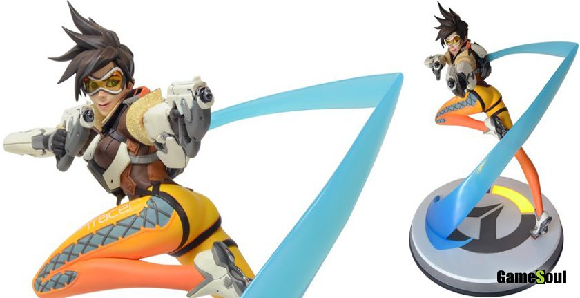 All You Can Loot - Overwatch statua di Tracer