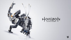 Un maxiposter di Horizon: Zero Dawn a Los Angeles