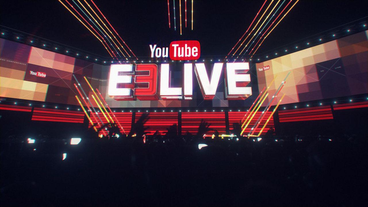 YouTube Live at E3 torna anche quest'anno