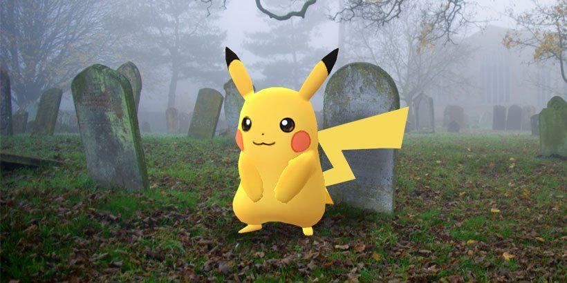 Pokemon GO pikachu cemetery