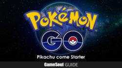 Pokémon GO – Guida: Pikachu come Pokémon iniziale