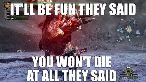 Monster Hunter Generations meme fun
