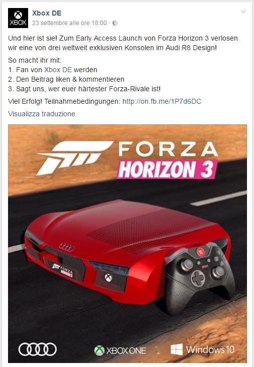 Forza Horizon 3 Audi