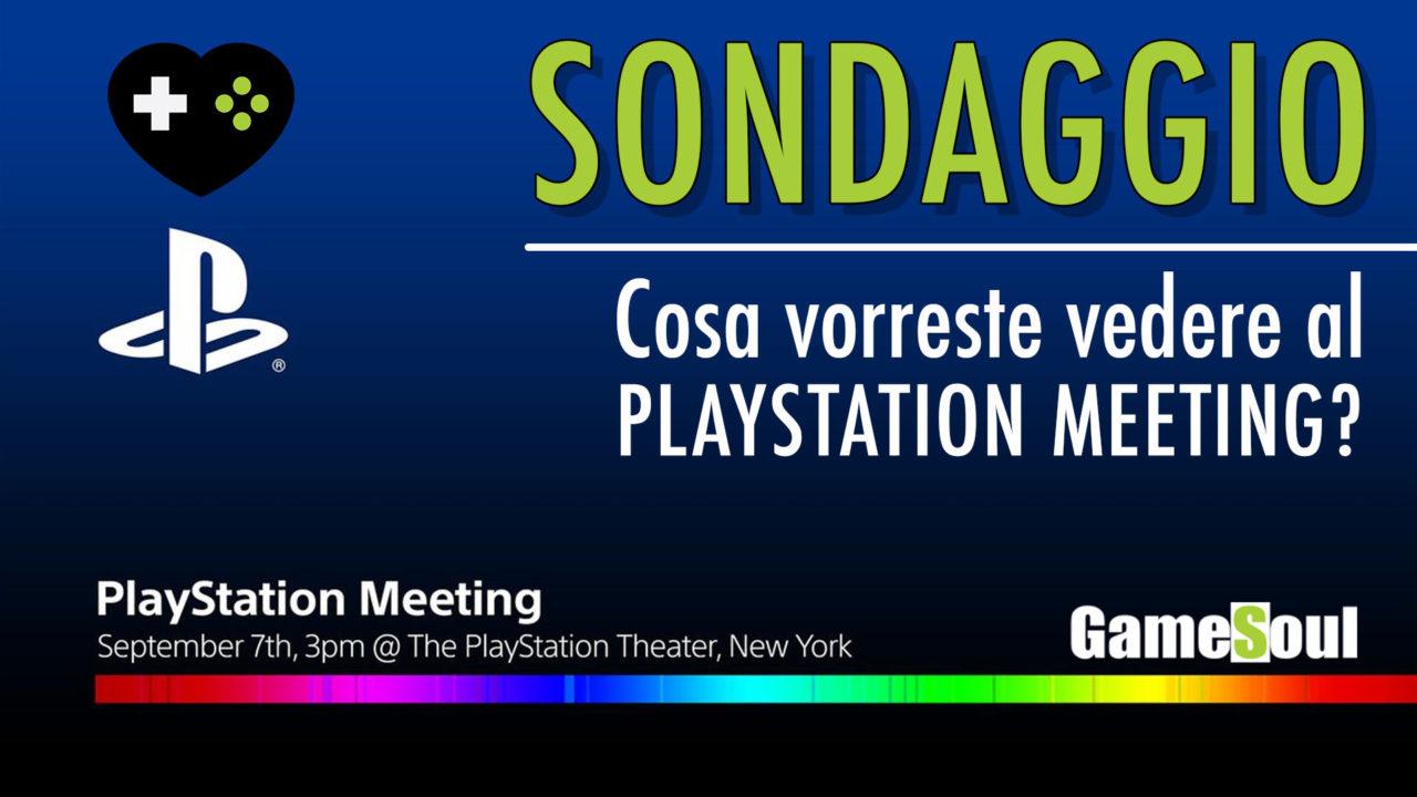 Sondaggio | Cosa vorreste vedere al PlayStation Meeting?