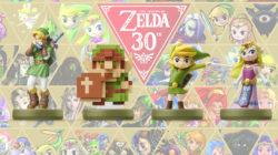 Gli amiibo di Zelda dedicati al 30° anniversario