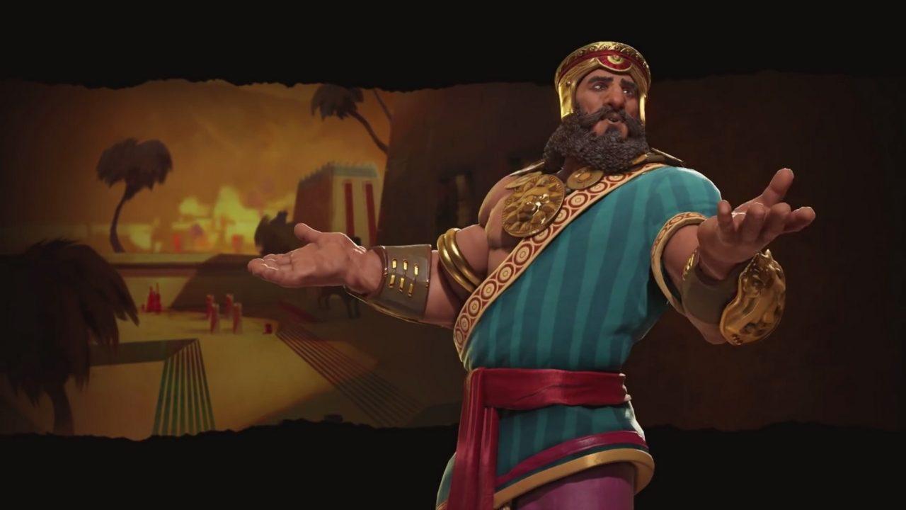 Gilgamesh guiderà i sumeri in Civilization VI