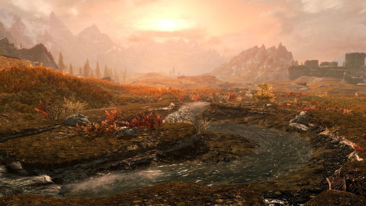 skyrim special edition fallout 4 mods