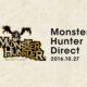 Un Nintendo Direct dedicato a Monster Hunter