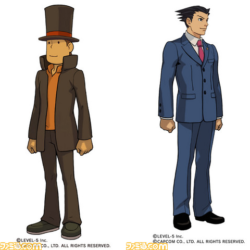 TGS 2012: Professor Layton vs Ace Attorney – Trailer