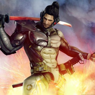 Metal Gear Rising: Revengeance – Jetstream Sam DLC…