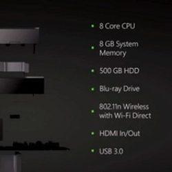 Xbox ONE – Un primo sguardo alle specifiche tecniche!