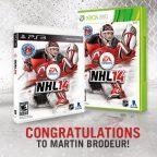 Martin Brodeur sarà sulla copertina di NHL 14