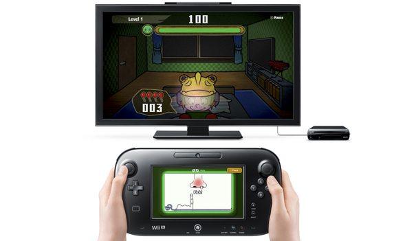 Mentre sul GamePad si è impegnati a giocare al vecchio WarioWare, nello schermo della TV bisogna stare attenti a non essere scoperti dalla madre. Semplice e geniale