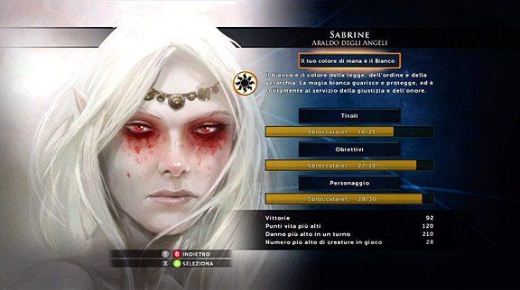 Il nuovo Status Giocatore: sono stati aggiunti anche i titoli e nuovi personaggi sbloccabili