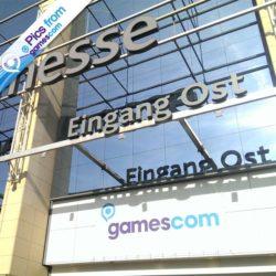 Pics from GamesCom: arrivo alla Fiera!
