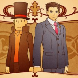 Professor Layton VS. Phoenix Wright in Europa nel 2014!