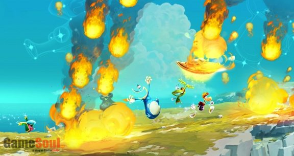 Rayman, Globox e Murfy (giocabile solo su WiiU) in una partita multiplayer! Divertimento assicurato!