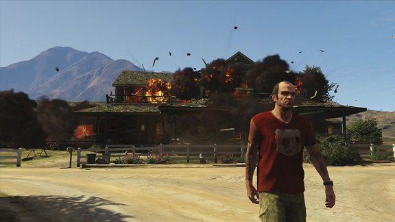 Con Trevor non mancheranno i momenti...esplosivi.