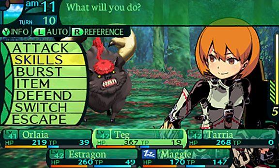 Avete controllato se ci sono tutte le tipiche voci dei menù di battaglia dei giochi di ruolo nipponici?