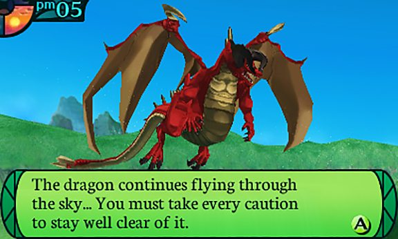 Come in ogni buon fantasy non mancano i draghi: questa volta, però, anche solo avvicinarsi troppo equivale ad un Game Over.