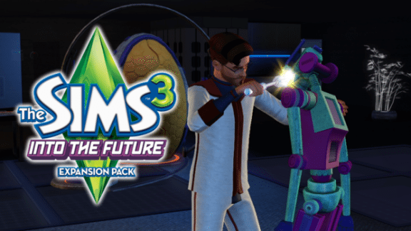 The Sims 3 Into the Future Banner