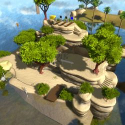 Gameplay off-screen per The Witness