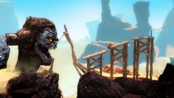 Il bestione in foto vi inseguirà per buona parte dell'avventura!