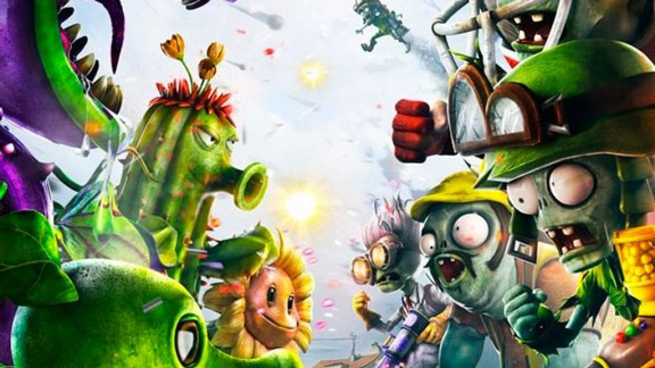 Plants Vs Zombies Garden Warfare Split Screen Solo Su Xbox One