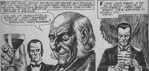 """La trasposizione de """"il cuore rivelatore"""" di E.A.Poe in un fumetto anni '60 con i disegni di Reed Crandall. Il racconto, insieme alla poesia """"Il Corvo"""" è al centro della follia in The Following"""