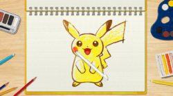 Pokémon Art Academy: Una mamma e i suoi figli all'opera