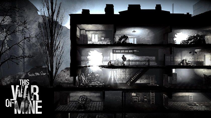 Ecco come si presentano gli edifici nei quali pianteremo le tende o andremo a caccia di risorse