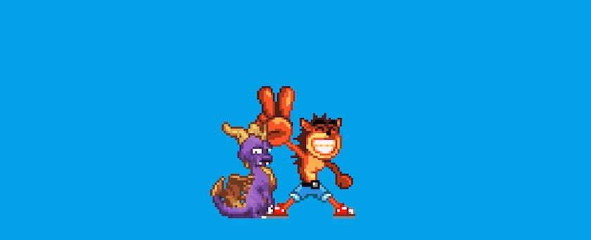 spyro_the_dragon_and_crash_bandicoot_by_mewmaster1997-d5k7yjk