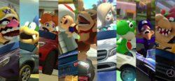 Mario & co. viaggiano in Mercedes grazie al DLC