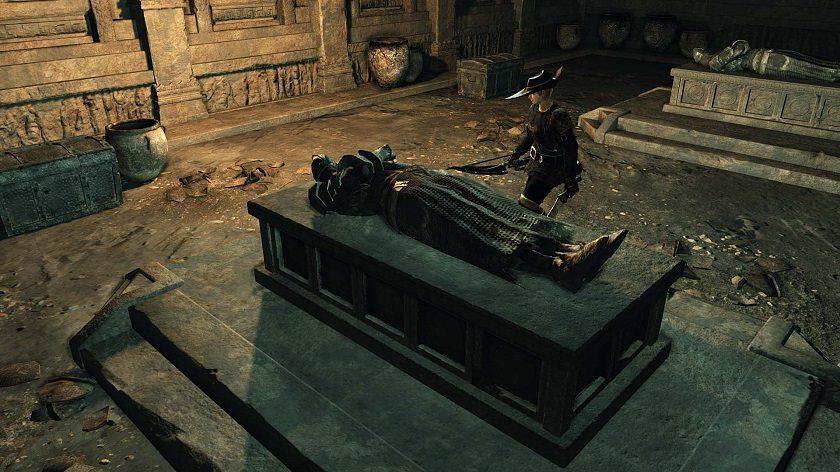 Non c'è tempo per i convenevoli: frantuma quel cadavere!