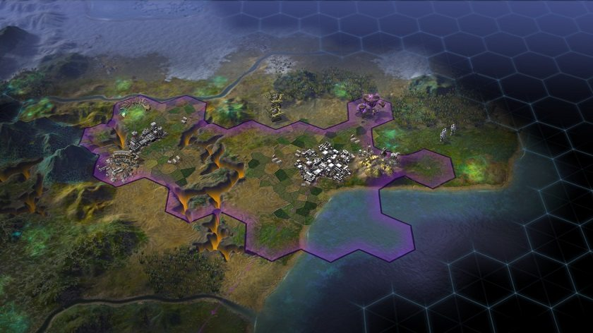 Civilization Beyond Earth Screen 1